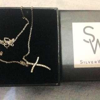 Silverworks Cross Necklace
