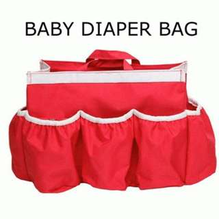 Baby Bag Organizer, Baby Diaper Bag, Tas Perlengkapan Bayi, Travelbag