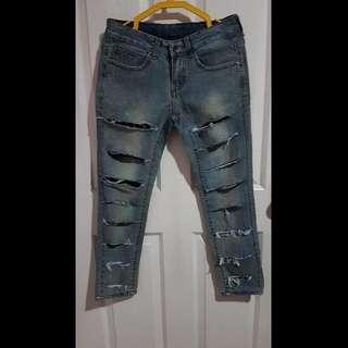 Stylebreak Tattered Jeans By Laureen Uy