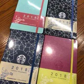 Starbucks 2018 Planner by Moleskine (Singapore Version)