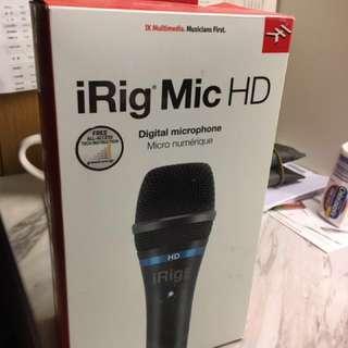 🚚 IRIG MIC HD  專業品質手持數位麥克風.隨時錄製清晰音頻首選!