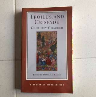 Troilus and criseyde by Geoffrey Chaucer (A Norton Critical Edition)