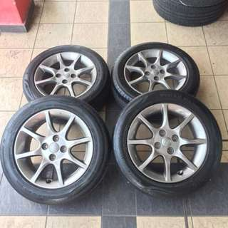 Original alza advance se 15 inch tayar 70%