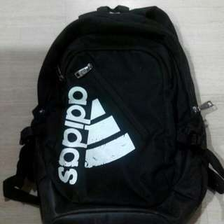 Authentic Adidas backpack black