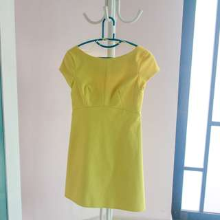 Zara; Yellow Dress