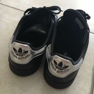 Adidas Stan smith shoes black size 36
