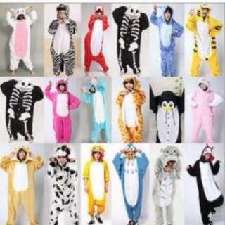 INSTOCK Animal Design Onesie*Kigurumi costumes*Halloween Party*Cosplay*Gift*New arrival