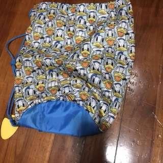 Donald Duck可摺埋的索繩袋