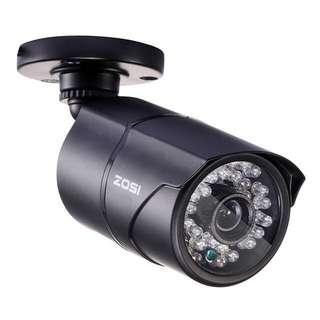 ZOSI 1/3 Color CMOS 1000TVL Bullet CCTV Camera HD Indoor/Outdoor 36 IR Leds Day/Night Security Home Video Surveillance Camera