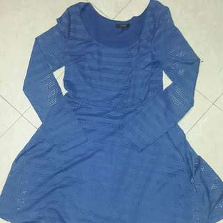 Nichii blue dress