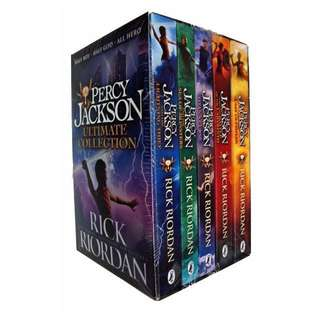 PERCY JACKSON & THE OLYMPIANS SERIES 1-5 (NEW)