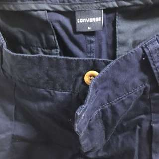 Converse navy blue pants