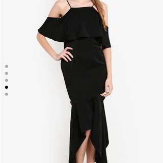 Zalora Black Dinner Dress