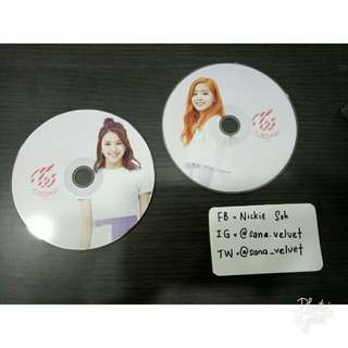 TWICE LANE 1 TWICECOASTER CHAEYOUNG DAHYUN CD PLATE