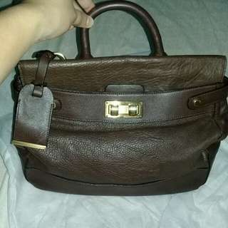 Authentic BCBG Maxazria Leather Bag