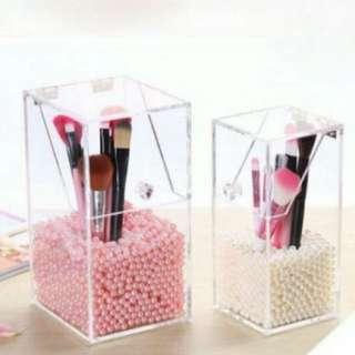 Acrylic Makeup Brush Organizer