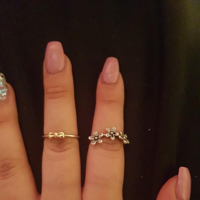 2 Pandora rings