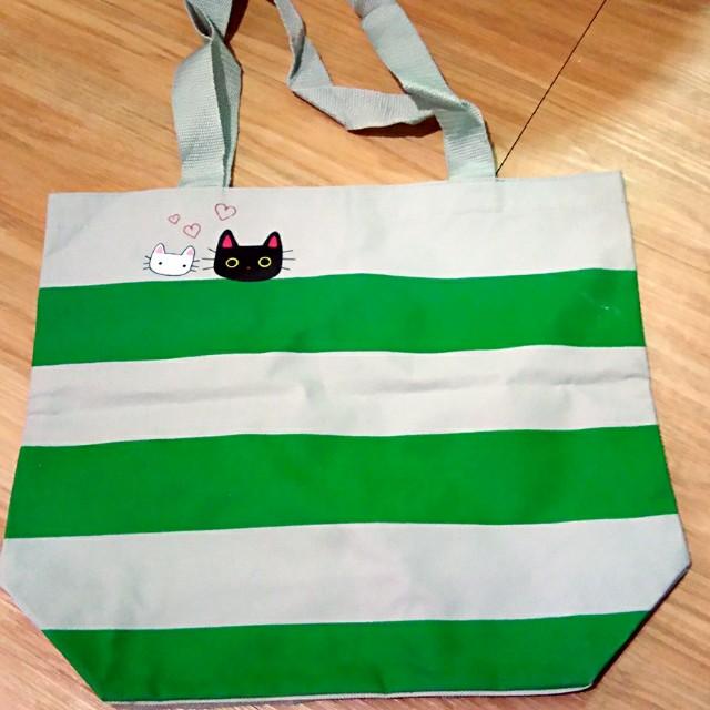 滿300送💞貓咪手提袋