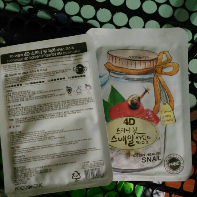 4d face mask by foodaholic