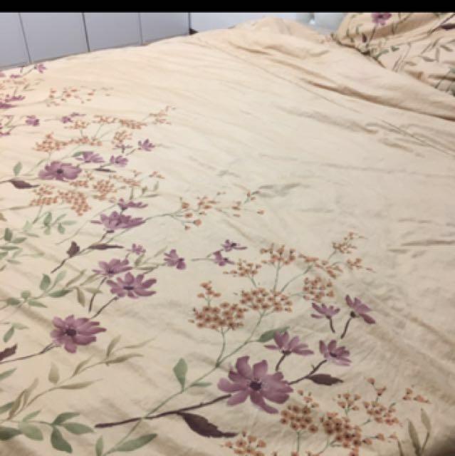 高支紗60支棉床組