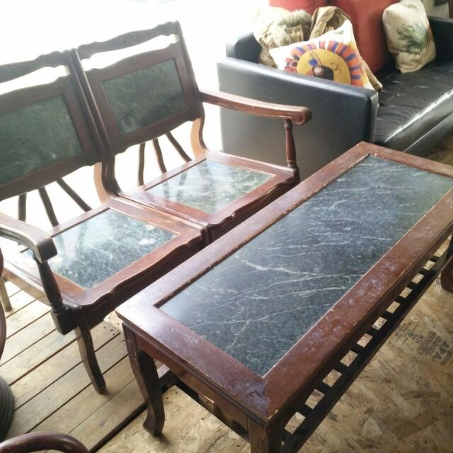 大理石桌椅