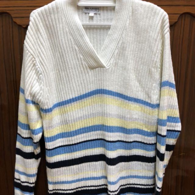 厚磅針織毛衣