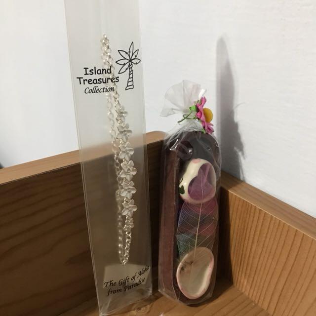 關島的伴手禮 線香及手鍊