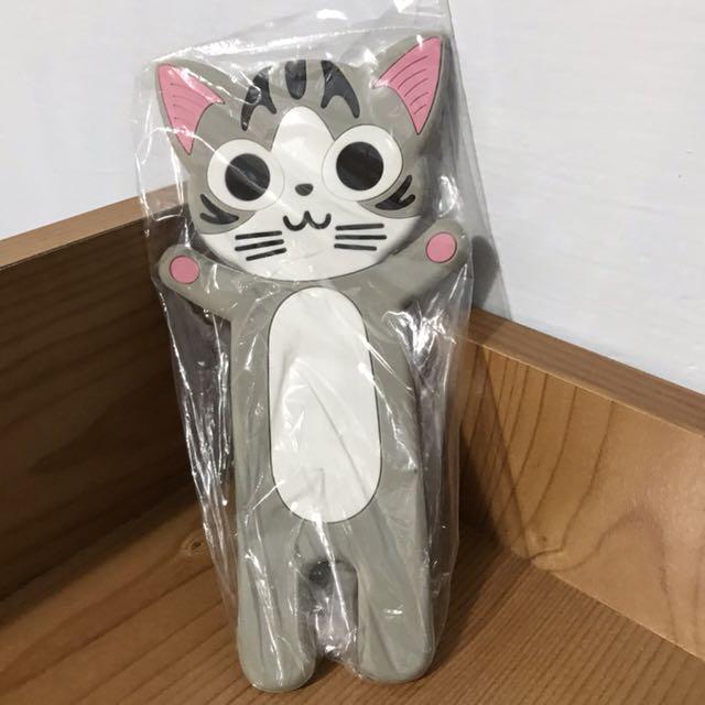 貓咪 手機座 可折