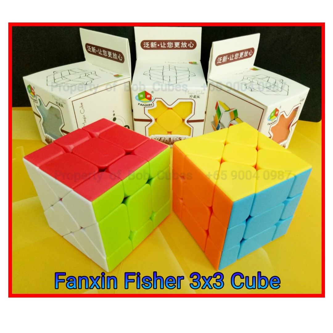 - Fanxin Fisher 3x3 Cube for sale -  Brand New !
