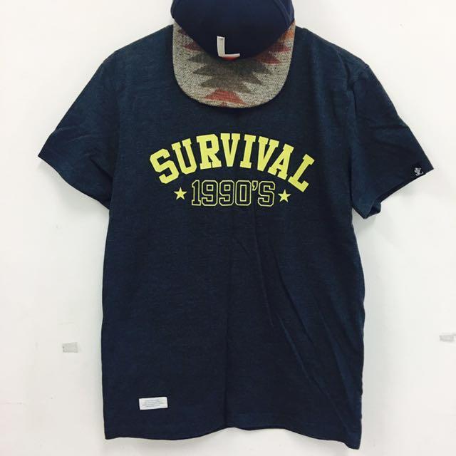 潮牌 Survival 短T