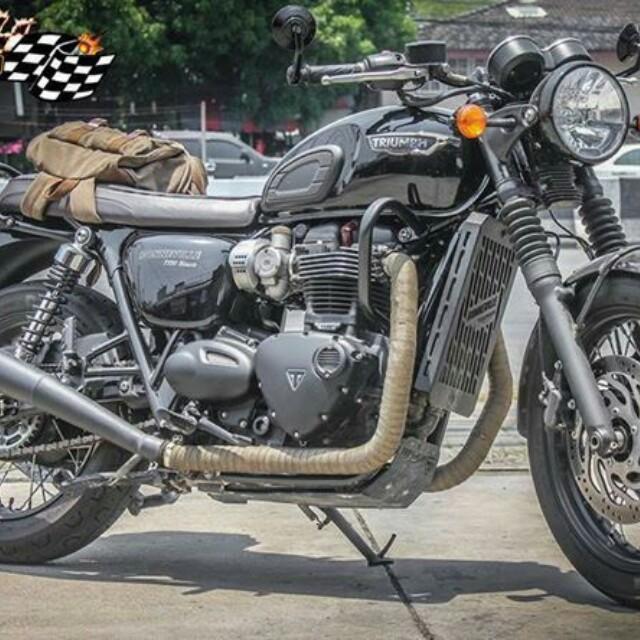 852495147 Moto Skill Singapore Triumph Bonneville T120 Crash Bar ! Ready Stock ...