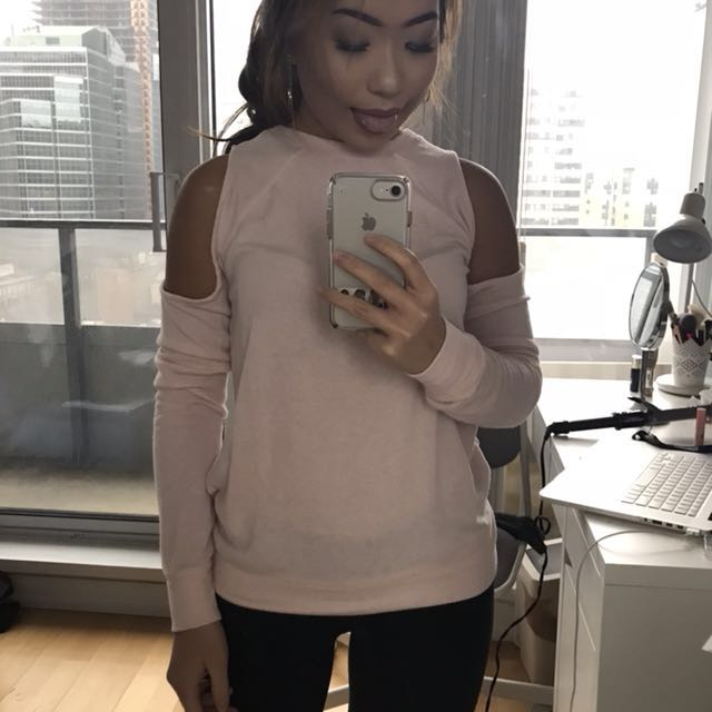 Abercrombie & Fitch Baby Pink Top