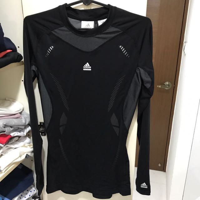 the best attitude 45528 a14f6 Adidas Climacool Techfit Compression Long-sleeved Top ...