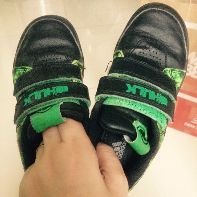 Adidas hulk, marvel
