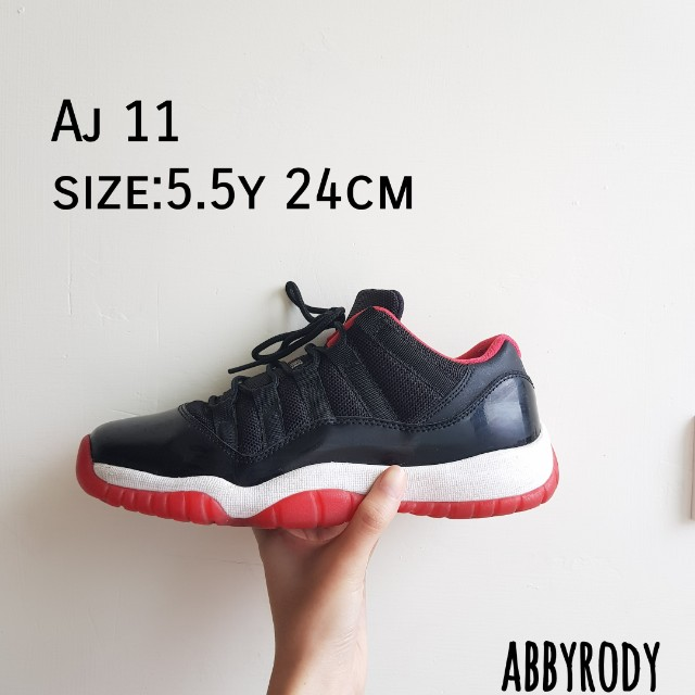 AJ 11代Bred low 5.5y 24cm