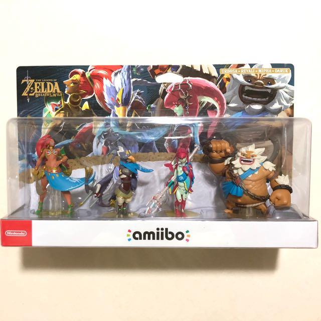 Amiibo - Zelda BotW Champions 4-pack