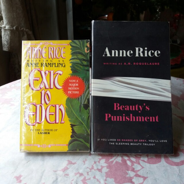 Anne Rice Books