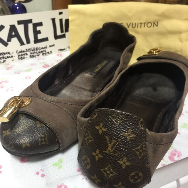 Authentic Louis Vuitton Monogramw/padlock Shoes