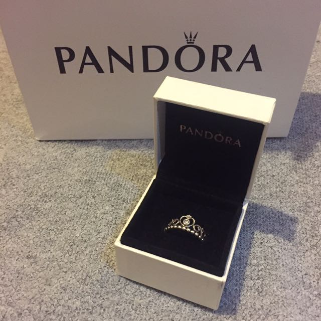 Authentic Pandora Princess ring