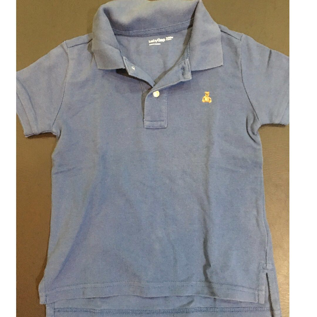 Baby Gap Blue polo shirt (2-3yo)