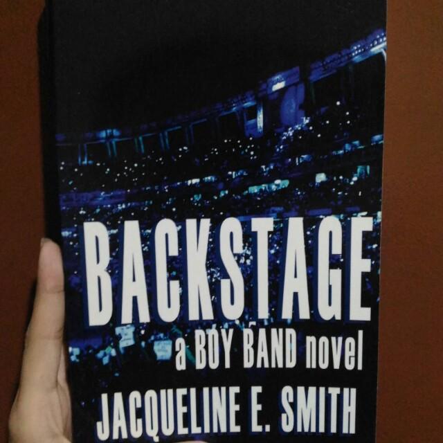 Backstage by Jacqueline E. Smith