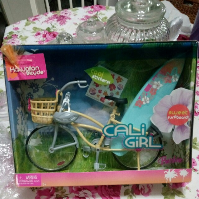 Barbie bicycle mattel