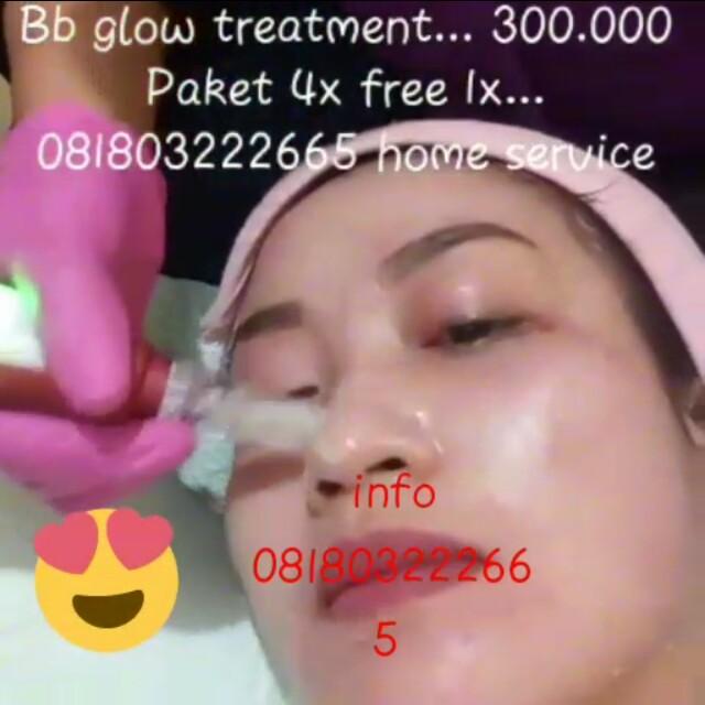 Bb glow treatment home service
