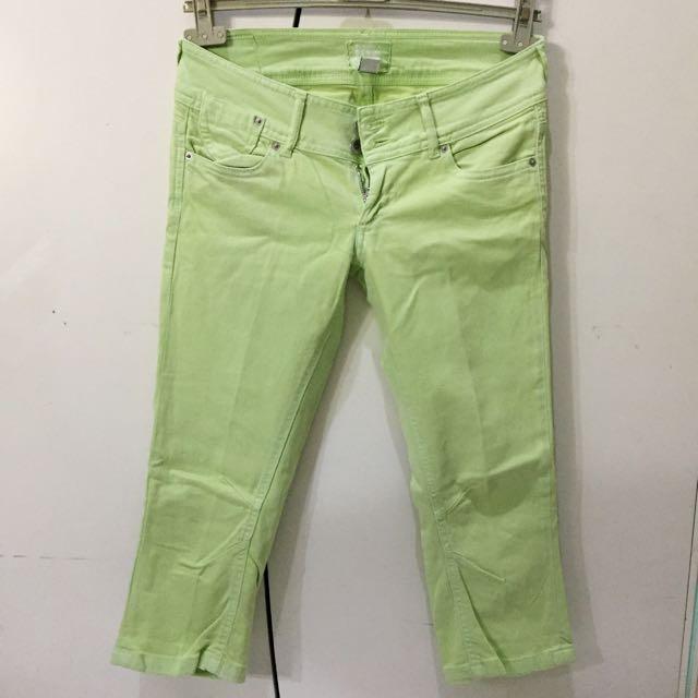 Bershka Green Pants