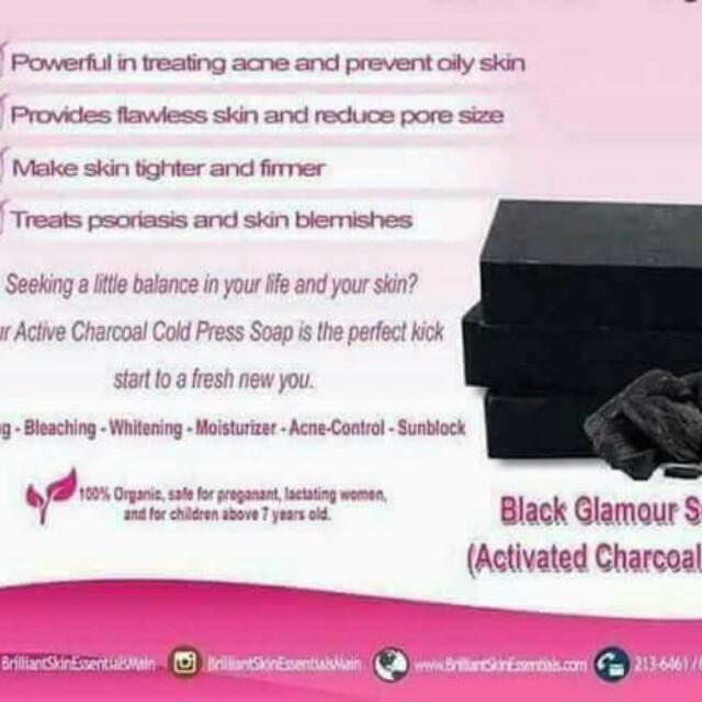 Black Glamour Soap
