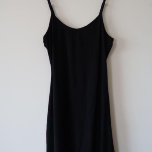 Black Singlet Dress