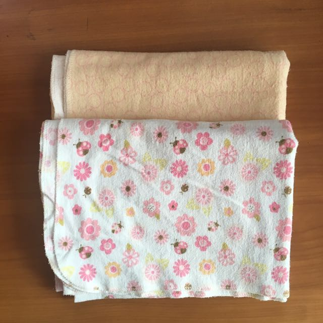 Bloom Flannel Receiving Blankets Bundle
