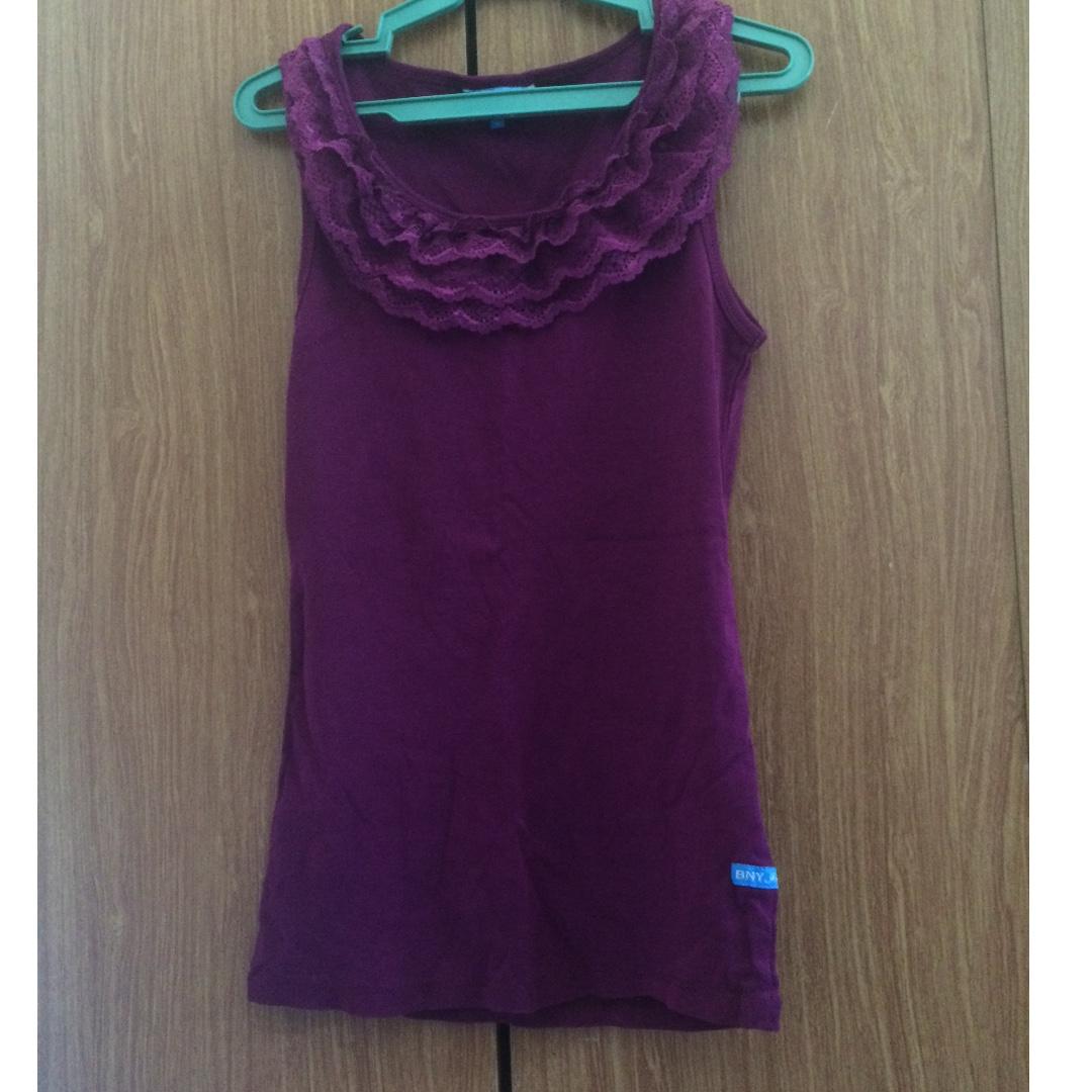 BNY purple top