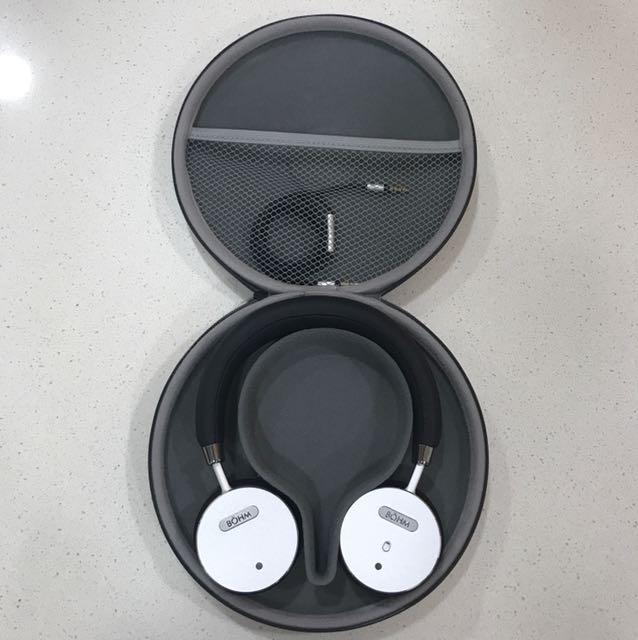 dd78eea19f8 BOHM B66 Bluetooth Wireless Noise Cancelling Headphones, Electronics, Audio  on Carousell