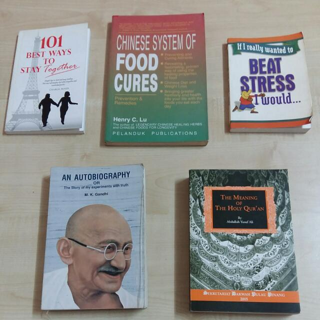 Books for RM2 (Lot 4)